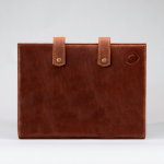 closed leather folder