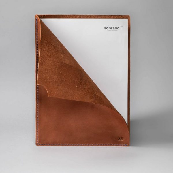 leather document sleeve