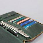 zipper passport wallet