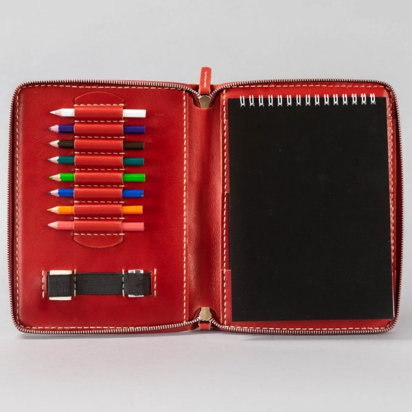 lip pad drawing book and pencil case
