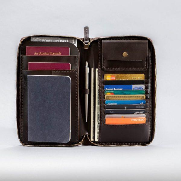 zip passport holder
