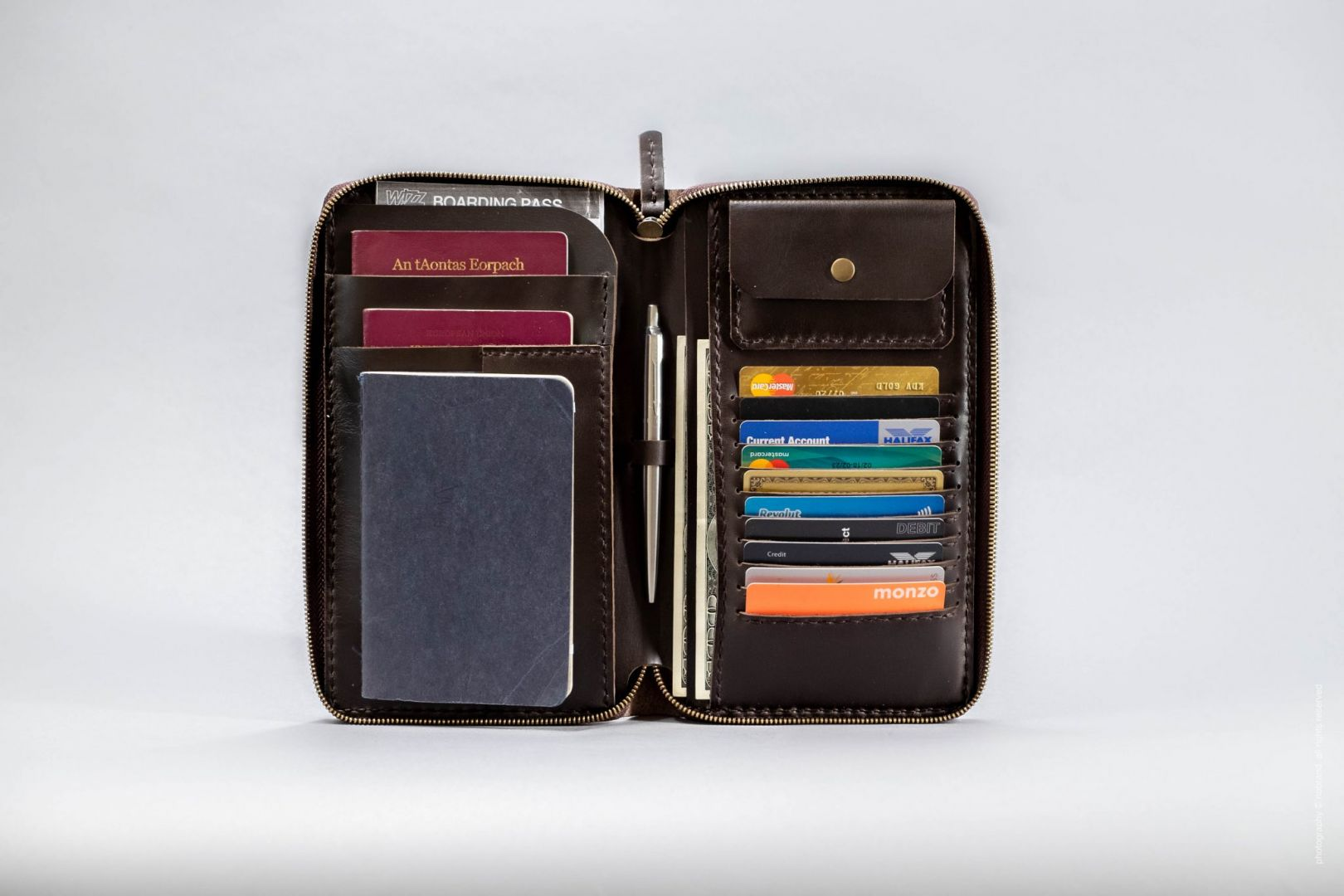 zip passport holder