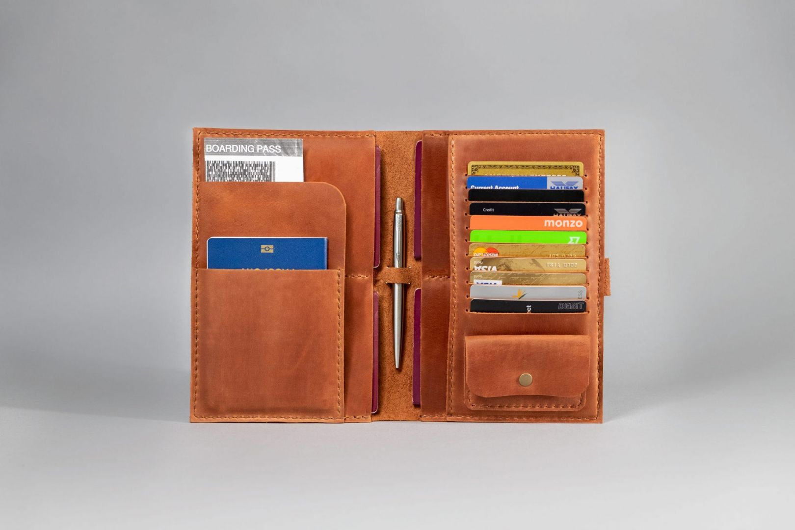 family travel wallet