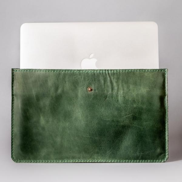 green macbook air sleeve