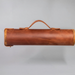 leather whisky carrier